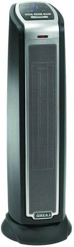 Lasko 5790 Oscillating Ceramic Tower Heater with Remote Cont