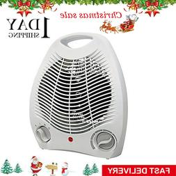 Portable Electric Space Heater 1500w Forced Adjustable Therm