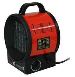 Sunnydaze Portable Ceramic Electric Space Heater with Auto S